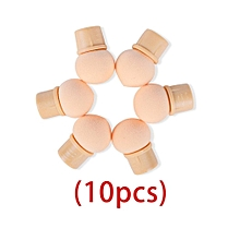 10 Pcs Replace Sponges of  Dual-ended Blooming Nail Pen Manicure Tools