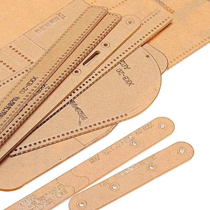 Generic Acrylic Template Pattern For Lovely Shoulder Bag Leather