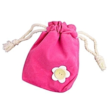 bluerdream-1x Finger Monkey Bags Portable Kids Play Storage Bag Toys Rug Box For Finger Monkey-Hot Pink