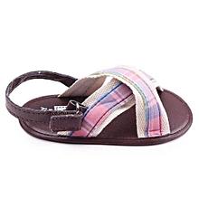 Boys Baby Kids Shoes Sandal  Soft Anti Slip Prewalker Shoes 11- Coffee