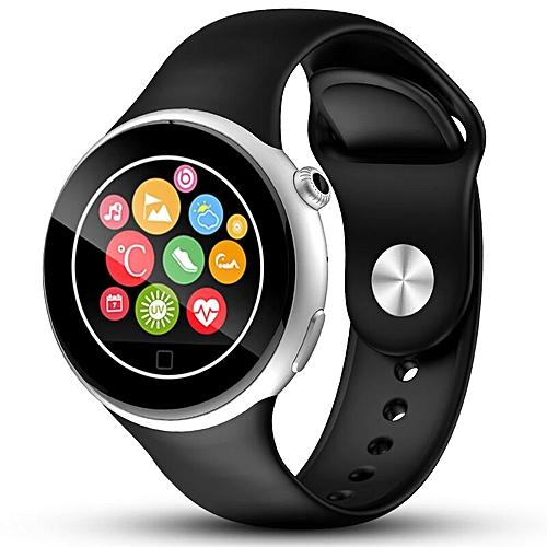 2016 Bluetooth Smart Watch C5 Waterproof WristWatch Sport Pedometer Smartwatch Smartphone Watches  (Color:Black)