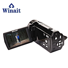 Winait 2017 hot sale HDV-V7 digital video camera with 270 degree rotation screen 16X digital zoom Face capture LIEGE