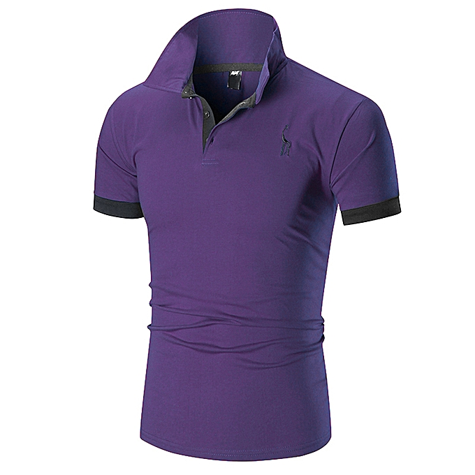 dff77a7e Generic Men Short Sleeve Casual Polo Shirts T Shirt Tee Tops ...