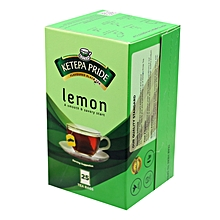 25 Lemon Flavoured Tea Bags - 50g