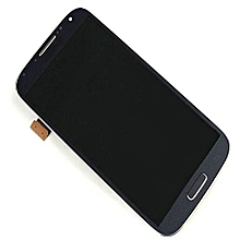 Lcd Screen With Frame Touch Screen Lcd Display Complete Screen Assembly Replacement Parts Blue For Samsung Galaxy I9500