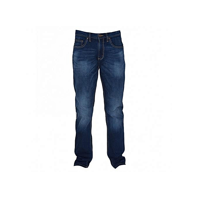 Blue Mens Straight Fit Jeans