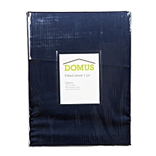 Fitted Sheet - Queen - 180cm x 200cm - 250T Cotton - Navy