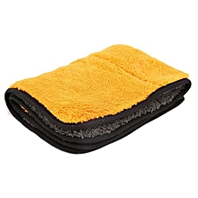 New 40cmx29cm Super Thick Plush Microfiber Car Cleaning Cloths Towel