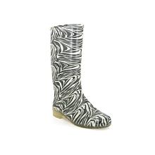 Zebra Printed Gumboots