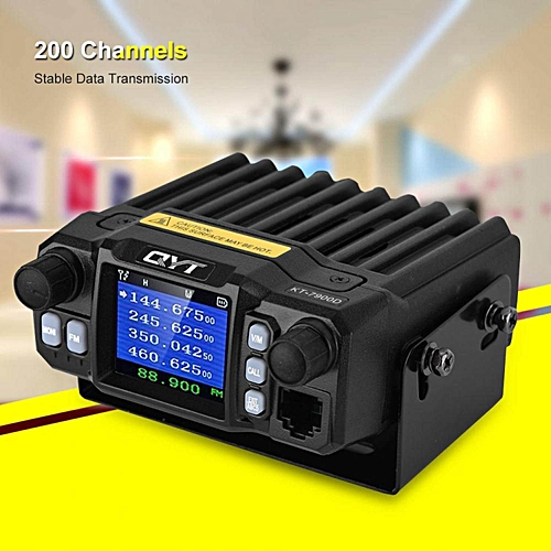 HT Stable Frequency Car Walkie Talkie 200 Channels 5-50km Distance Mobile  Radio CB Transceiver