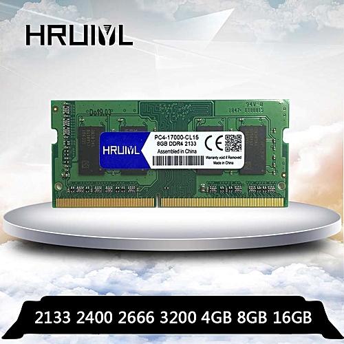 Laptop DDR4 4GB 8GB 16GB 4G 8G 16G RAM Memory DDR 4 PC4-17000 PC4-19200  2133 2400 2666 3200 mhz Memoria 260-pin SODIMM(Memory Capacity: DDR4 2400  8GB)