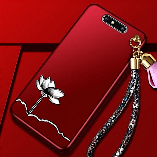 info for 2c96e 417d1 Silicone TPU Phone Case For ZTE Blade V8 / 5.2 Inch Luxury Embossed Flowers  Shockproof Cover (1X Flower Hand Rope)