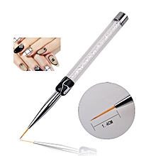 Nail Art Tools Brushes Black Rod White Drill Pull Wire Hook Pen LOng
