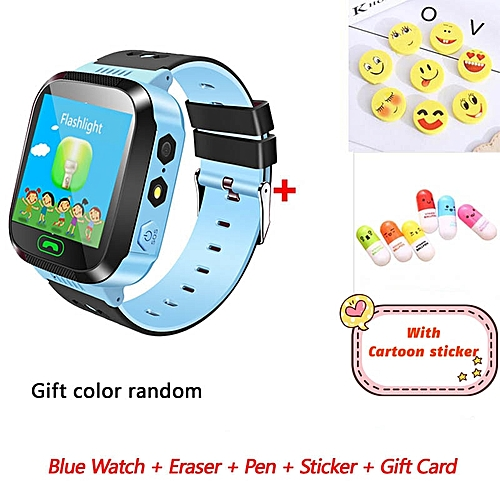 English Q528 Smart Baby Watch With Gsm Positioning Locator Touch Screen Tracker Sos Flash Sim Calls For Kids Gift Children Children's Watches