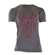 Dark Grey Short Sleeved T-shirt Limited Edition