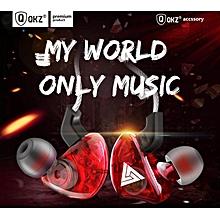 QKZ CK5 New Sports Ear Headphones Transparent Bass Phone Music Headphones (with Microphone)
