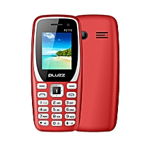 PLUZZ P2170 1.77'' 800mAh FM Radio With LED Flashlight Big Speaker Dual SIM Card Feature Phone