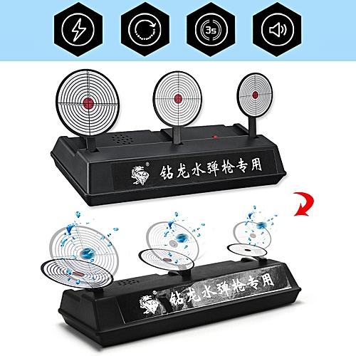 00ca8b992 Generic Auto Reset Electronic Target Gel Ball Blaster Practice Shooting  Aimed Kids Toy