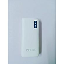 50,000 mAh Full Capacity Power Bank + Flashlight - White