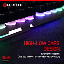 Gaming USB Wired Keyboard Rainbow Backlight for PC / Desktop / Laptop