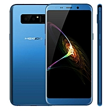 Note 8 4GB+64GB Dual Back Cameras Face & Fingerprint Identification 5.99 Inch Dual-side 3D Arc Glass Android 7.0 MTK6750T Octa Core1.5GHz 4G Smartphone(Blue)