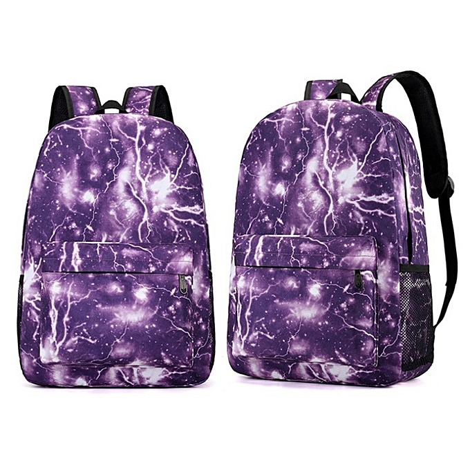 8bd1e238bb Fashion koadong shop Couple Schoolbag Travel Hiking Bag Galaxy Backpack  Collection Luminous Bag Teen