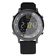 EX18 Sports Smart Watch Bluetooth Phone Information Alarm Clock Reminder black