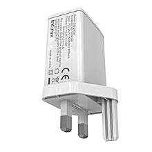 USB  Charger For Infinix Charger  - White