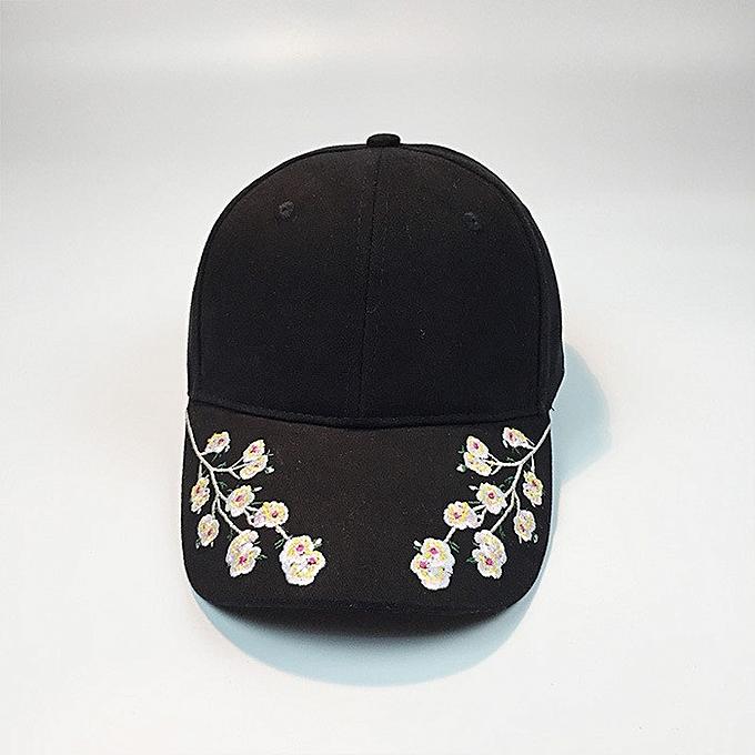 Generic Women Embroidery Cotton Baseball Cap Snapback Caps Hip Hop ... 286515a81b