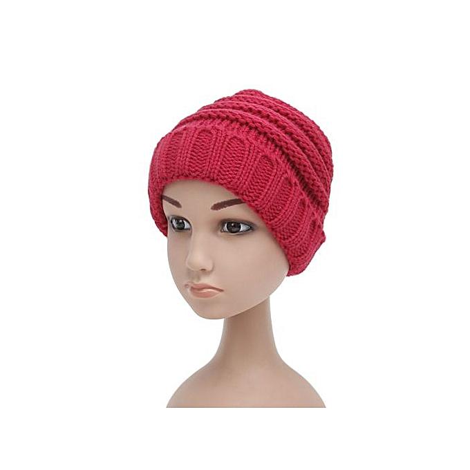 Fashion Braveayong Fashion Crochet Cap Baby Kids Hat Knitted Girls