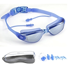 Clear Vision Waterproof No Leaking Anti-Fog Adjustable Headband HD Swim Goggle
