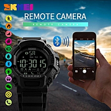 SKMEI Brand Watch Fashion Android Men Pedometer Sports Digital Watches Man Remote Camera Call Reminder LED Hybrid Smartwatch 1249 BDZ