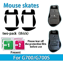 2 sets Teflon 0.6mm 3M Mouse Feet mouse Skates for Logitech G700 G700s Mouse