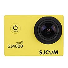 SJCAM SJ4000 HD 1080P WiFi Sports Action Camera Waterproof DV Camcorder 12MP Yellow