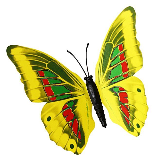 Wonderful White Butterflies Wall Decor Gallery - Wall Art Design ...