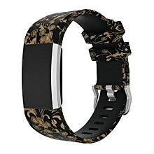 Sport Silicone Replacement Wristband Wrist Strap For Fitbit Charge 2 With High Quality