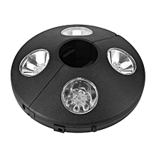 Patio Umbrella Pole Light 24 LED Battery Operate Outdoor Night Lamp Camping Tent