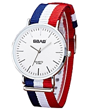 guoaivo SBAO  Fashion Temperament Vintage Couple Simple High-end Watches - Multicolor B