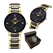 Unisex Watch ORLA002 Quartz Two-Tone Expansion Band Watch