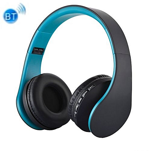 BTH-811 Folding Stereo Wireless Bluetooth Headphone Headset With MP3 Player  FM Radio, For Xiaomi, IPhone, IPad, IPod, Samsung, HTC, Sony, Huawei And