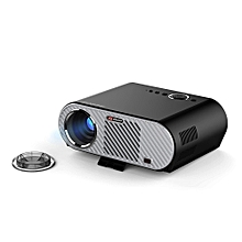 VIVIBRIGHT GP90 Projector 3200 Lumens Home Theater Support 1080P Android 4.44 OS - Black