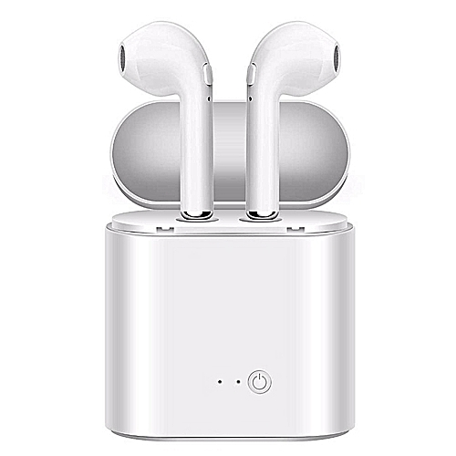 a8605a863bc Generic I7S In-Ear Wireless Earphone Bluetooth headphone with Mic For iPhone  8 7 plus 7 6 6s 5s ForSamsung
