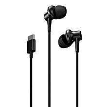 origin-al Xiaomi Noise Cancellation In-ear Earphones Type-C Version with Mic - BLACK