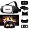 3D Virtual Reality Glasses - 2nd Generation - White
