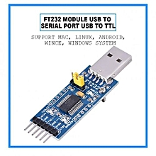 FT232 USB UART Board (Type A) USB To Serial TTL FT232RL Converter Module