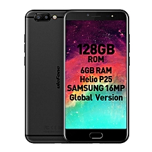 "T1 (6GB RAM 128GB ROM)Helio P25 MTK6757CD 5.5"" Corning Gorilla Glass FHD  Android 7.0 4G LTE Smartphone Black"