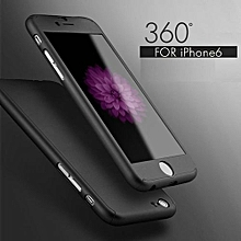 IPhone 7 360° Full Protective Case - Black