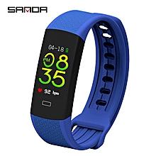 Smart Watch Sports Pedometer Waterproof Heart Rate Monitor