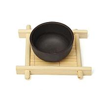 5PCS Handmade Bamboo Cup Mat Kung Fu Tea Accessories Table Placemats Mug Mats & Pads