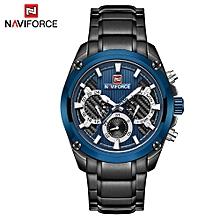 NF9113 Quartz Watch Man Watch Top Brand Luxury Waterproof Date Week Hour Stainless Steel Watch with Calendar